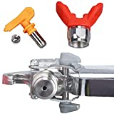 JWGJW Airless Paint Spray Gun With 517 Tip for
