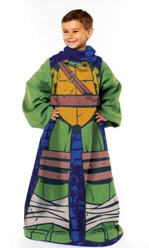 [Teenage Mutant Ninja Turtles, Being Leo Youth Comfy Throw with Sleeves, 48