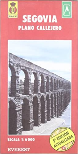 Segovia. Plano callejero y mapa de carreteras: Plano