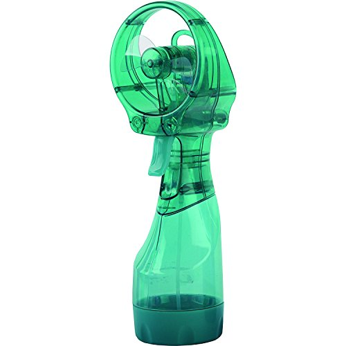 O2COOL FML0001 Deluxe Handheld Battery Operated Misting Fan, Teal by O2COOL