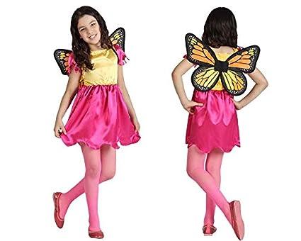 Atosa Disfraz de Mariposa infantil - Niña, de 7 a 9 años: Amazon ...