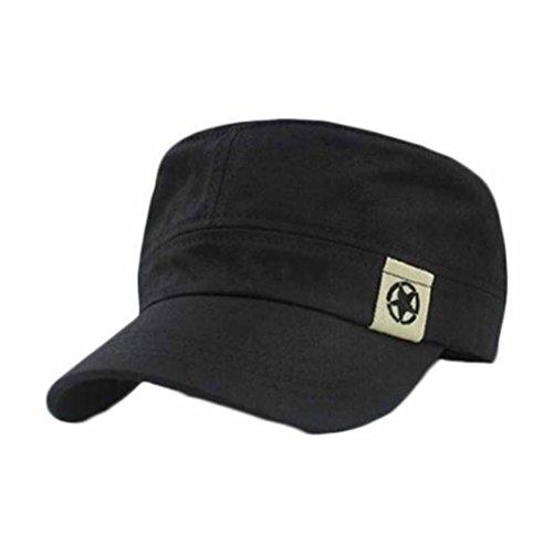 Start Unisex Flat Roof Military Hat Baseball Cap