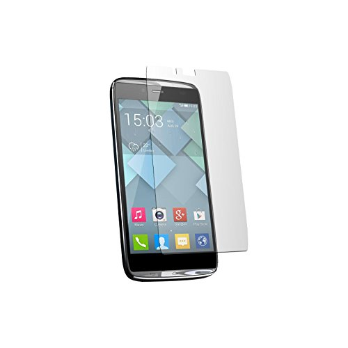 2 x PhoneNatic Screen Protectors for Alcatel One Touch Idol Alpha Protection Film clear