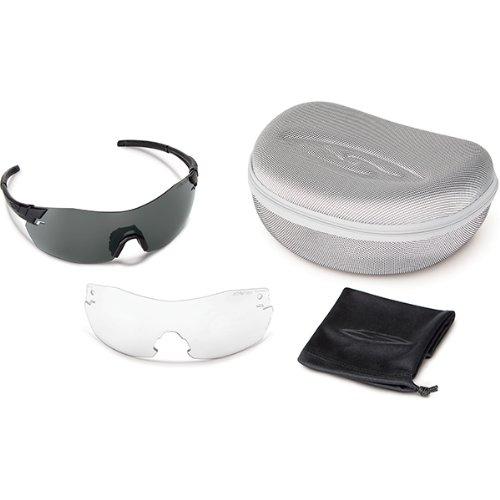 Smith Optics Elite Pivlock V2 Tactical Sunglass, Gray/Clear/Ignitor, - V2 Smith Optics