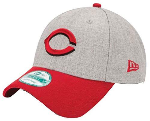 New Era MLB Cincinnati Reds The League Heather 9Forty Adjustable Cap, One Size, Heather