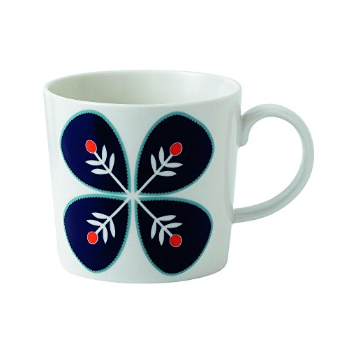 Royal Doulton Fable Garland Flower Accent Mug, White ()
