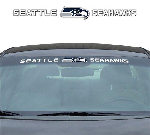 Seattle Seahawks 35''x4'' Windshield