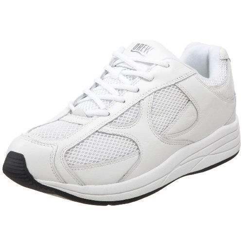 Drew Shoe Men's Surge Athletic Walking Shoe,White,10 6E US