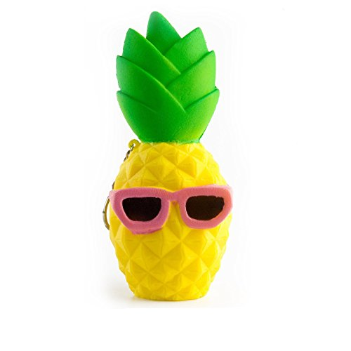 Youngate Stress Relief Sunglass Squishies Slow Rising Kawaii Soft Pineapple Toys (1 PC, - Sunglasses Check Your Face On