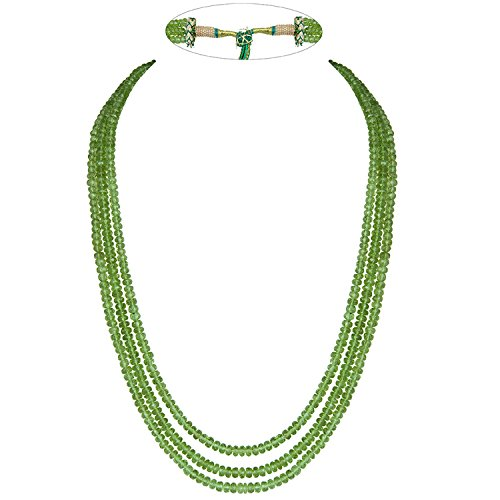 Faceted Roundel Bead Necklace - 4