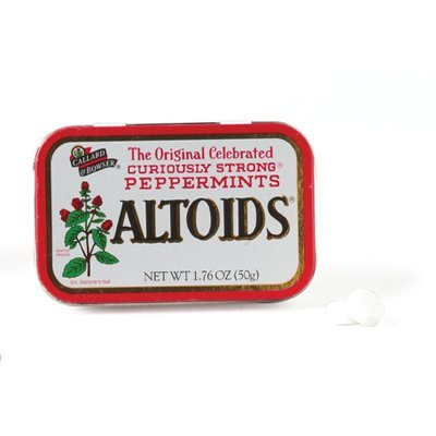 Altoids Original Peppermint Tin: 12 Count