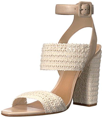Schutz Women's Glendy Espadrille Sandal, Cru/Vanilla, 7.5 M US S2014800860001