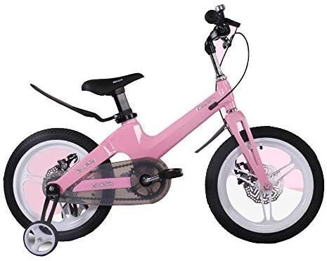 YSA キッズバイク子供用自転車バスケット、2-13歳の男の子と女の子の自転車12/14/16/18インチフラッシュアシストホイール自転車
