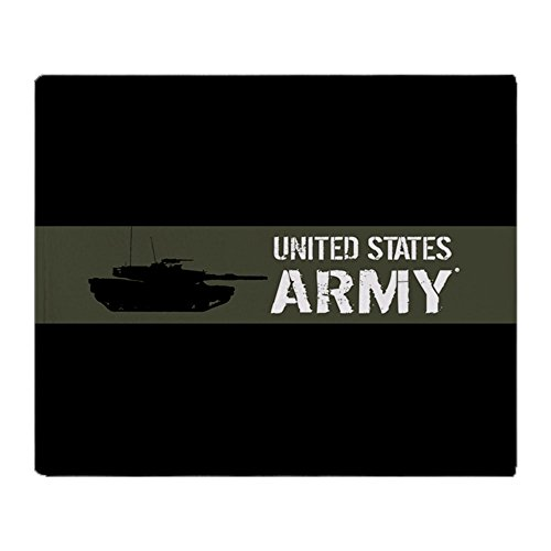 CafePress - U.S. Army: M1 Abrams Tank (Military - Soft Fleece Throw Blanket, 50