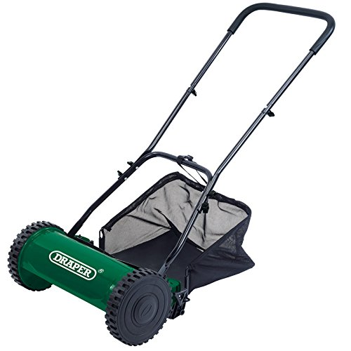 Draper 84749 380 mm Mano cortacésped - Verde: Amazon.es: Jardín