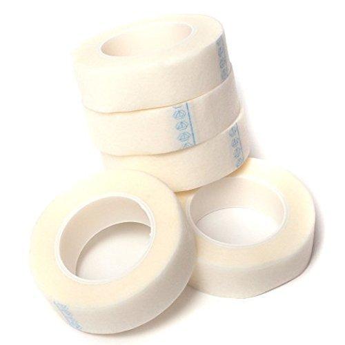 Andesan 5 Rolls Individual Eyelash Extension Medical Tape Makeup Tools