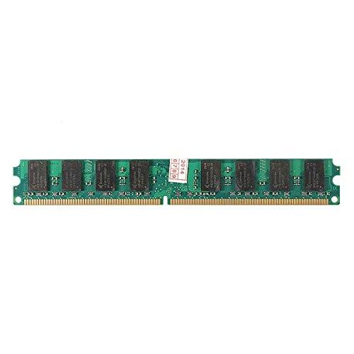 2GB PC2-5300 5300U DDR2-667 NON-ECC DIMM Computer Memory For Motherboard Desktop - Computer Components Memory- 1x 2GB DDR2 PC2-5300 5300U DDR2-667 MHZ 240-Pin Desktop PC DIMM Memory RAM