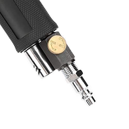 ROSEBEAR AT-1502 Mini Air Angle Sander 90° Pneumatic Polishing Grinding Machine + 2in/3in Sanding Pad Air Random Orbital Palm Polisher