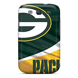 Hot Fashion LIP7090clKx Design Case Cover For Galaxy S3 Protective Case (green Bay Packers)