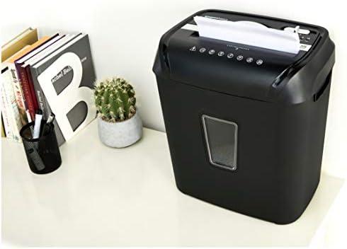 Amazon Basics 12-Sheet Cross-Cut Paper and Credit Card Home Office Shredder