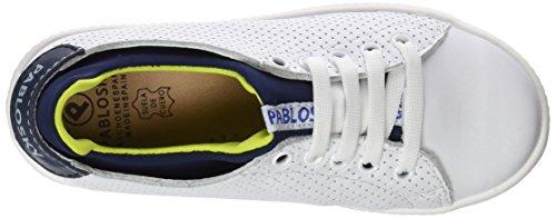 Pablosky 261901, Zapatillas para Niños Blanco (1)