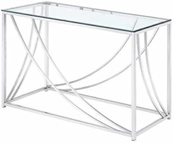 Coaster 720499-CO Glass Top Console Table