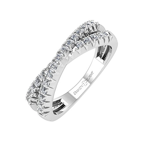 0.28 Ct Diamond Band - 4