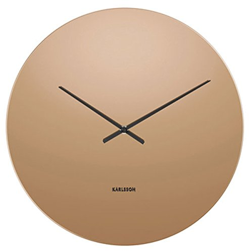 Karlsson Wall Clock, Copper, One Size