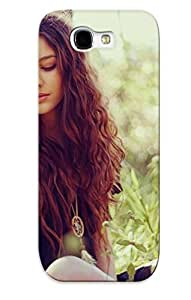 Galaxy Note 2 Case, Premium Protective Case With Awesome Look - Hippie Girl (gift For Christmas)