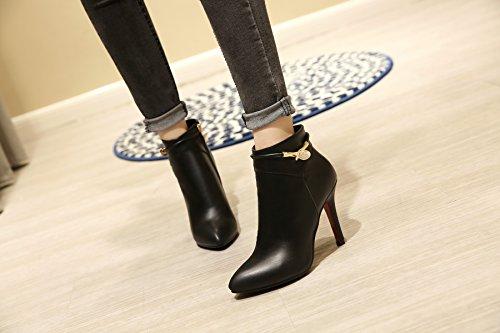 YL Women's Boots Black nVoc5