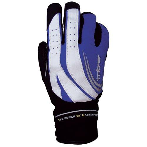 チャンバー摂氏描写INTRO(イントロ) Trigger3 Winter Full finger グローブ blue L