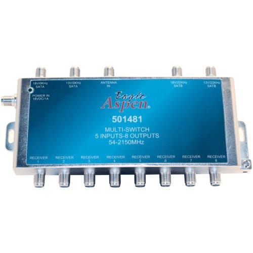 Eagle Aspen 501481 5 X 8 Sat Multiswitch