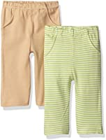 Touched by Nature Organic Striped Pants 2 Pack