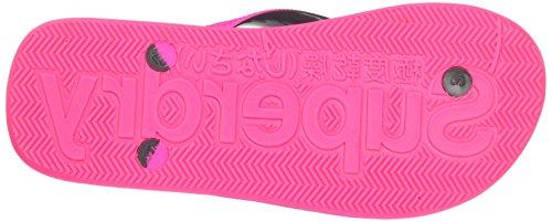 Flip Mar Charcoal Multicolore L iridescent Superdry Infradito Flop Donna Scuba ASfqa