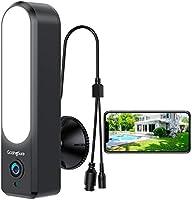 [2020 Upgrade] WiFi Outdoor Security Camera| GazingSure Alexa Floodlight Camera for Home Security| 1080P FHD| Smart...
