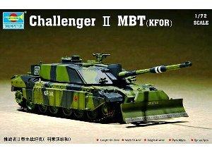 Battle British Tank Main (Trumpeter 1/72 British Challenger II  KFOR Main Battle Tank)