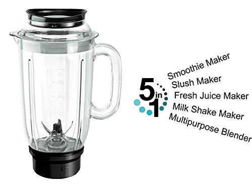 Cello GNM_Elite Mixer Grinder, 500W, 3 Stainless Steel Jar and 1 Juicer Jar