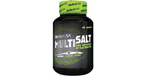 BioTech USA Multisalt 60 Kapseln Salzkapseln mit Elektrolyten für ...