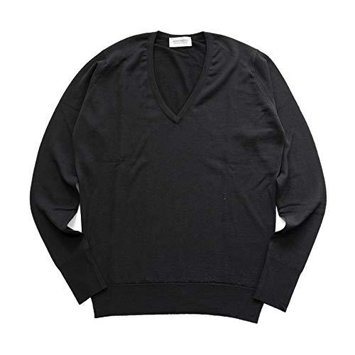 JOHN SMEDLEY ジョンスメドレー PEPIN Vネック ニット メリノウール セーター カラー全3色 [並行輸入品]