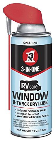 3-IN-ONERVcare Window & Track Dry Lube with SMART STRAWSPRAYS 2 WAYS, 10 OZ