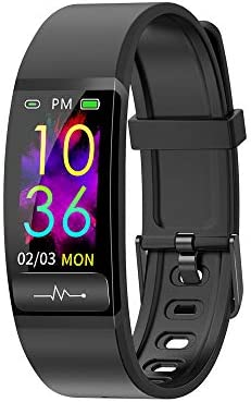 Smart Watch, Hongmed Fitness Watch for Android phones and iPhone Compatible, with Body Temperature Blood Pressure Oxygen Monitor, Waterproof Pedometer Activity Tracker With Sleep Monitor for Men Women 1