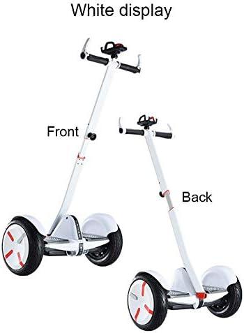 Ecisi Guidon réglable pour Scooter Segway miniPRO miniLITE Ninebot S avec Support pour téléphone, Guidon de Scooter Amovible pour Scooters Auto-équilibrés, Balance Hoverboard