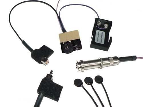 K&K Sound Pure Mini Guitar Pickup w/Pre-Phase Preamp