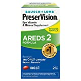PreserVision AREDS 2 Eye Vitamin & Mineral Supplement with Lutein and Zeaxanthin, Soft Gels, 2 Pack (210ct Each) PER#JGE PreserVision-LE
