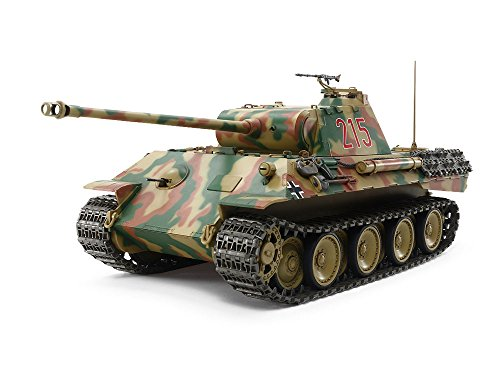TAMIYA 1/25 SCALE R/C GERMAN TANK PANTHER Ausf.A With CONTROL UNIT (Assembly kit) 56605【Japan Domestic Genuine Products】【Ships from Japan】 ()