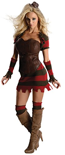 Rubie's Nightmare On Elm Street Freddy Corset Costume, Multicolor, Medium -