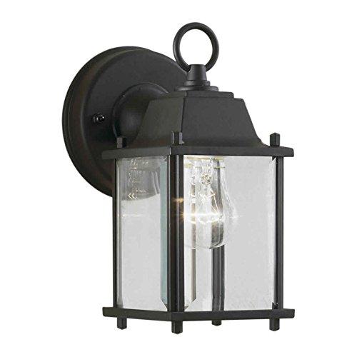 Filament Design CLI-FRT1705-01-04 Burton 1-Light Outdoor Wall Lantern, Medium, Black