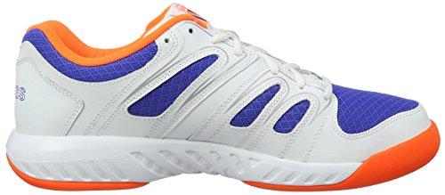 K-Swiss Calabasas Mesh- Chaussures pour homme, couleur : blanc
