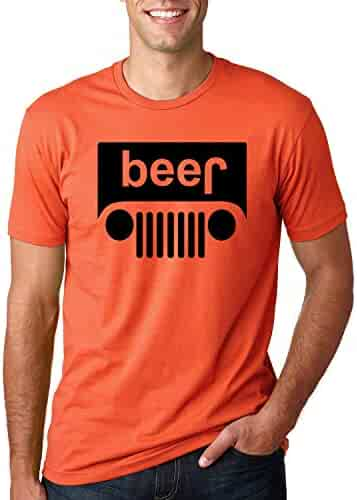 241c808d491b Beer Logo | Jeep Parody Humor Alcohol | Mens Drinking Tee Graphic T-Shirt