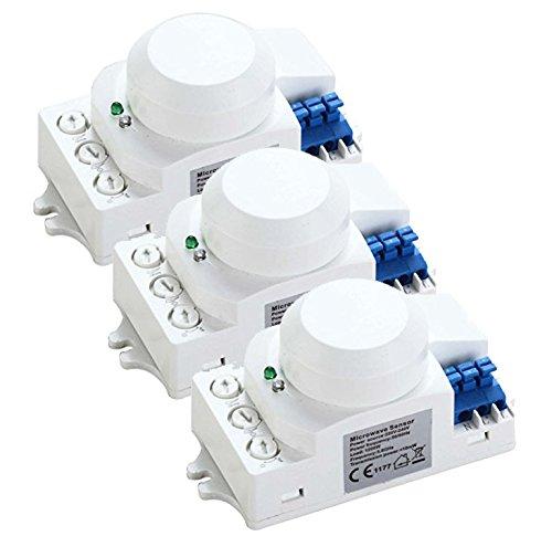 ZEYUN Detector de sensor de movimiento de microondas HF ...